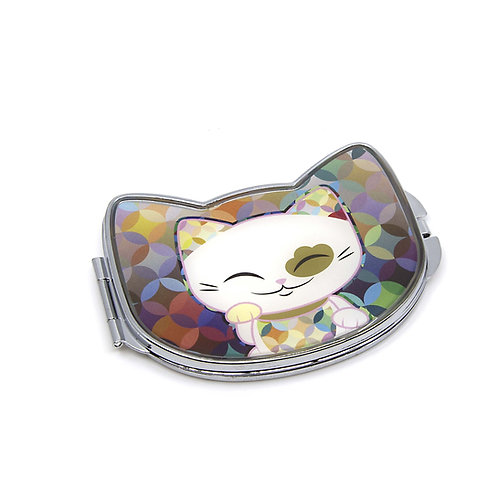 Mani the Lucky Cat - Compact Mirror