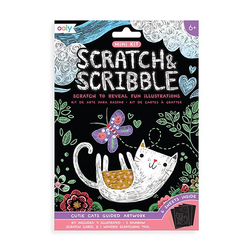 Scratch & Scribble Mini - Cutie Cats