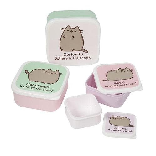 Pusheen Snack Tubs - Set of 4