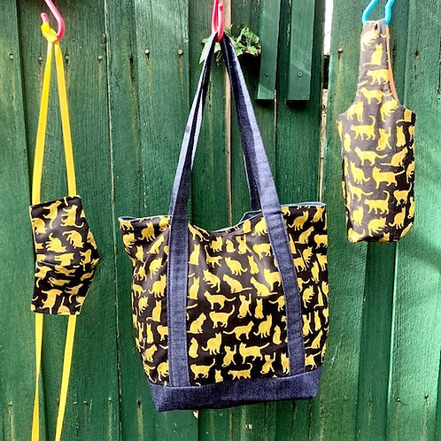 LOCKDOWN ESSENTIAL WITH STYLE SET - Yellow Lining
