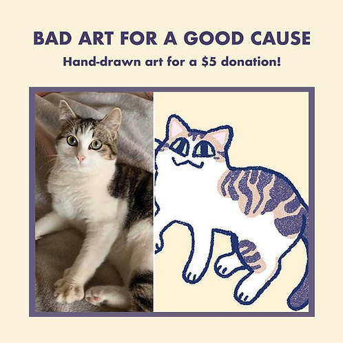Bad Art for a Good Cause! September Fundraiser