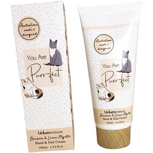 You Are Purrfect Orange Hand Cream