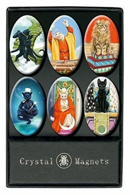 Crystal Magnets - Cat