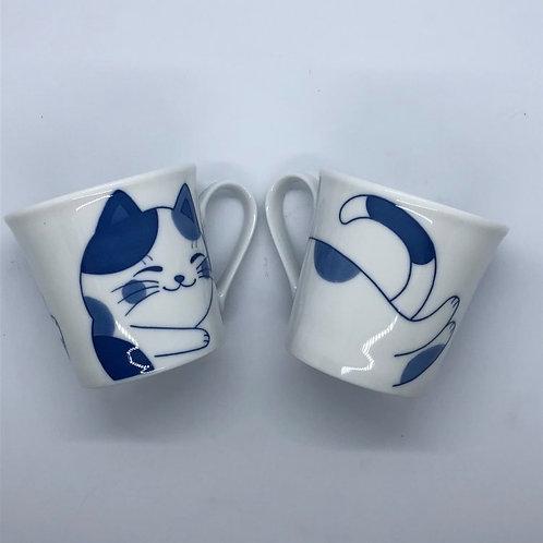 Japanese Ceramic Blue Mug