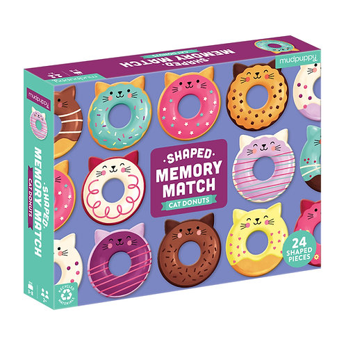 Cat Donut Shaped Memory Game