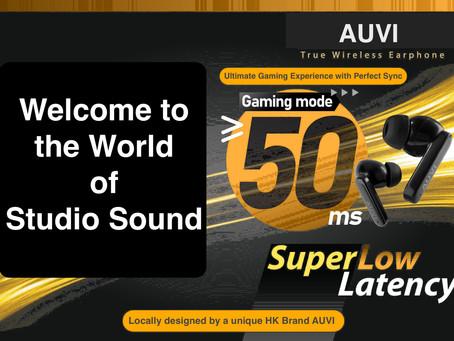 AUVI Studio-G, True Wireless Earphones.