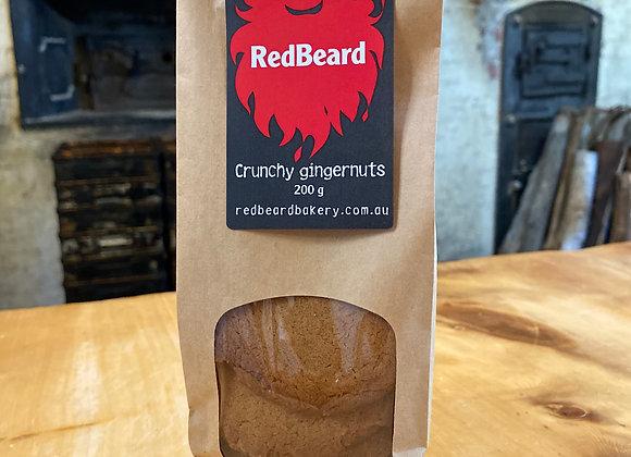 Crunchy Gingernut biscuits, 200g