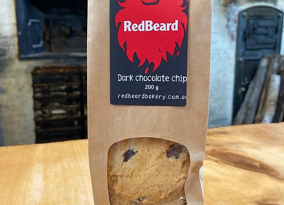 Dark Chocolate Chip biscuits, 200g