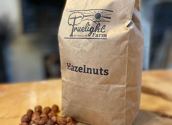 Organic hazelnuts, 1kg