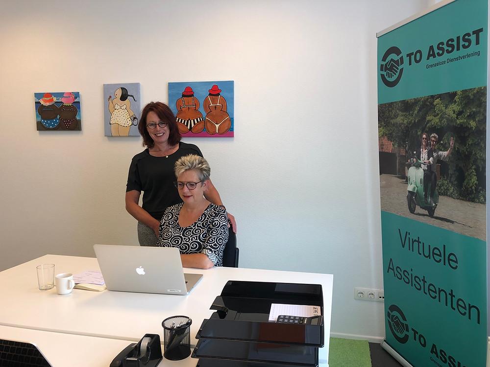 Een eigen kantoor voor het team To Assist, Grenzeloze Dienstverlening