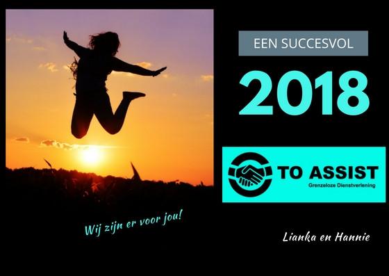 Nieuwjaarsgroet | To Assist, Grenzeloze Dienstverlening