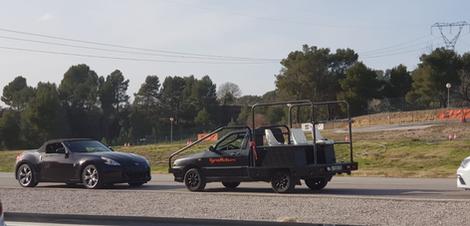 Stunt drive school escuela curso conducción especialista cine stunt driver barcelona técnica