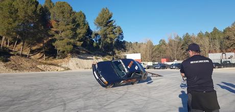 Stunt drive school escuela curso conducción especialista cine stunt driver barcelona coche a dos ruedas
