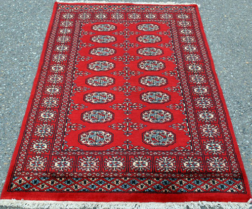 simply lovely super quality fine bokhara rug 100 natural vegetable dye hand woven worsted wool pile on cotton foundation the crisp and well defined - Bokhara Rug