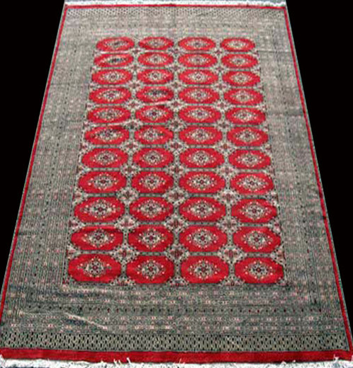 very fine handmade lustrous super quality bokhara rug 100 natural hand woven vegetable dye worsted wool pile on cotton foundation - Bokhara Rug