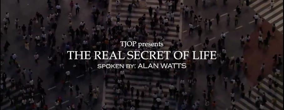 The Secret of Life - Alan Watts