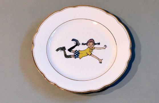 Frühstücksteller Pippi Langstrumpf