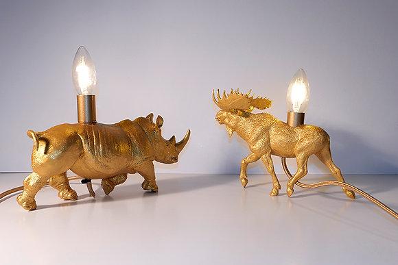 Nashornlampe / Elchlampe