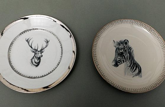 Hirsch /Zebra