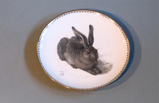 Frühstücksteller Albrecht Dürer Hase