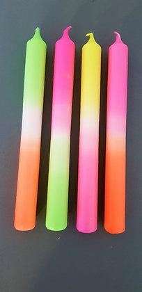 Sommeredition Neon, 4 Stück