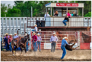 The rodeo takes place in mid-May of each year with performances on Friday and Saturday evenings of the scheduled weekend.