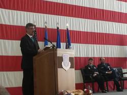 USAF Retirement Ceremony