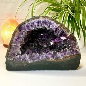 Stunning and unique Uruguayan Amethyst Geode