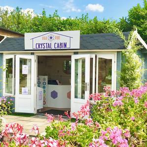 High Vibe Crystal Cabin
