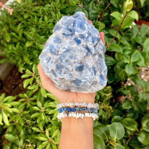 Raw Blue Calcite Crystal