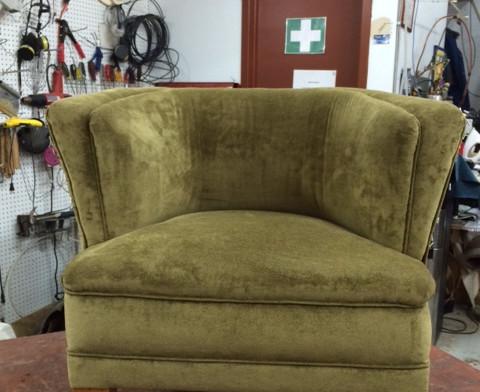 Recouvrement et réparation de fauteuil