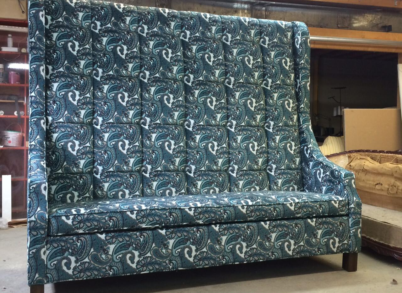 Rembourrage de meubles haut de gamme
