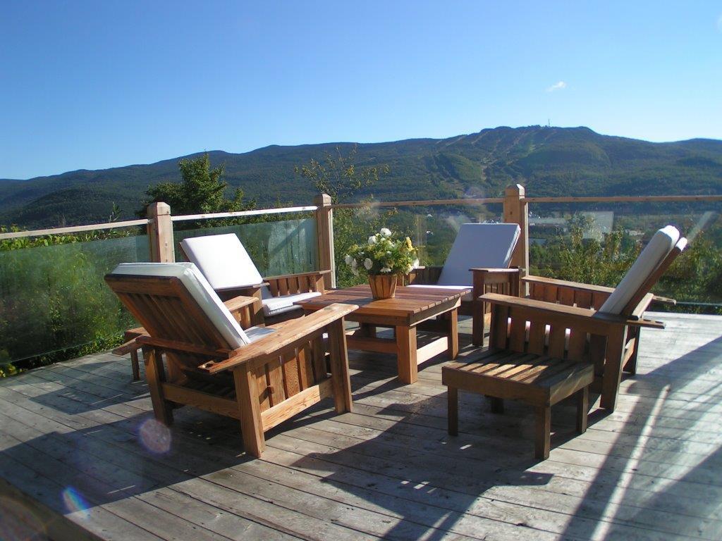 Rembourrage meubles extérieurs