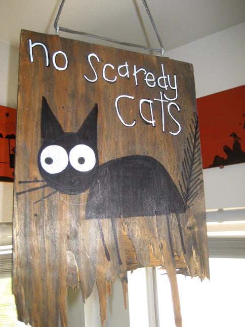 No Scaredy Cats