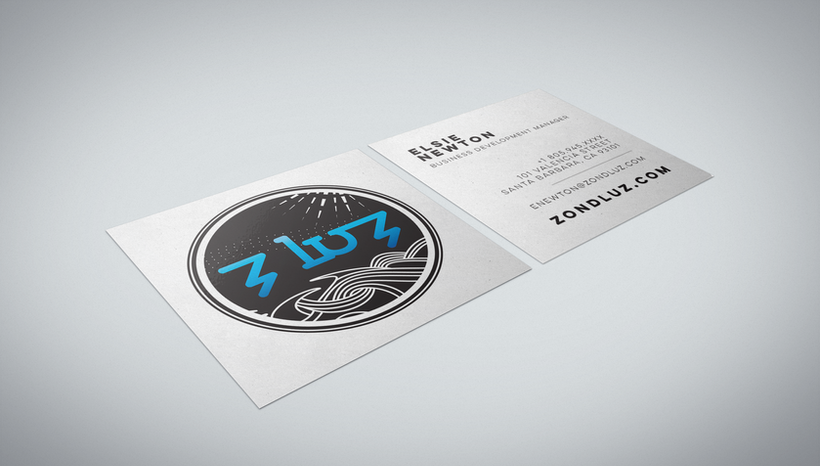 ZLUZ Business card