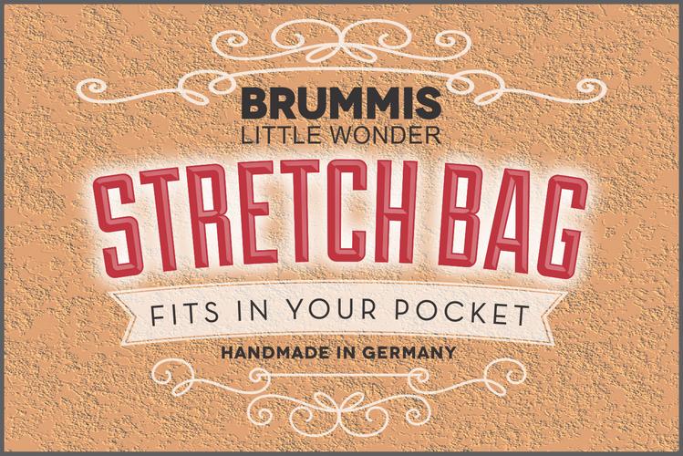 Brummis Little Wonder Stretch Bag Logo