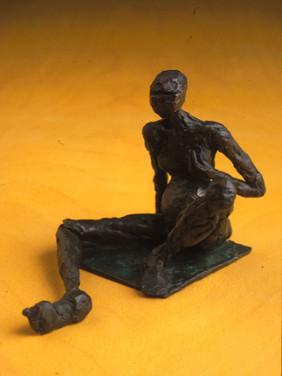 Bronze cast sculpture