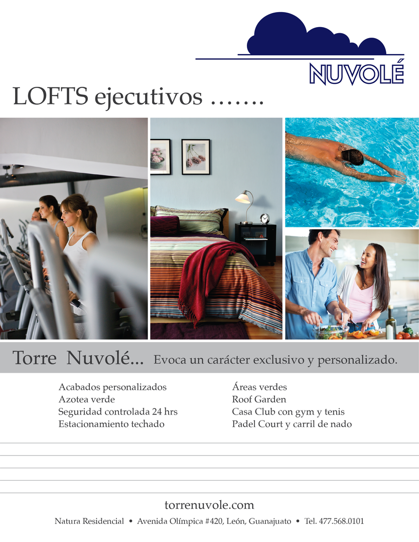 Nuvole Brochure Front