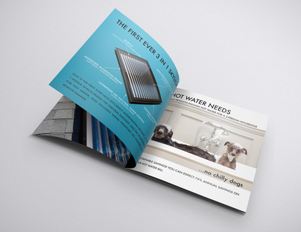 Created messaging and brochure design