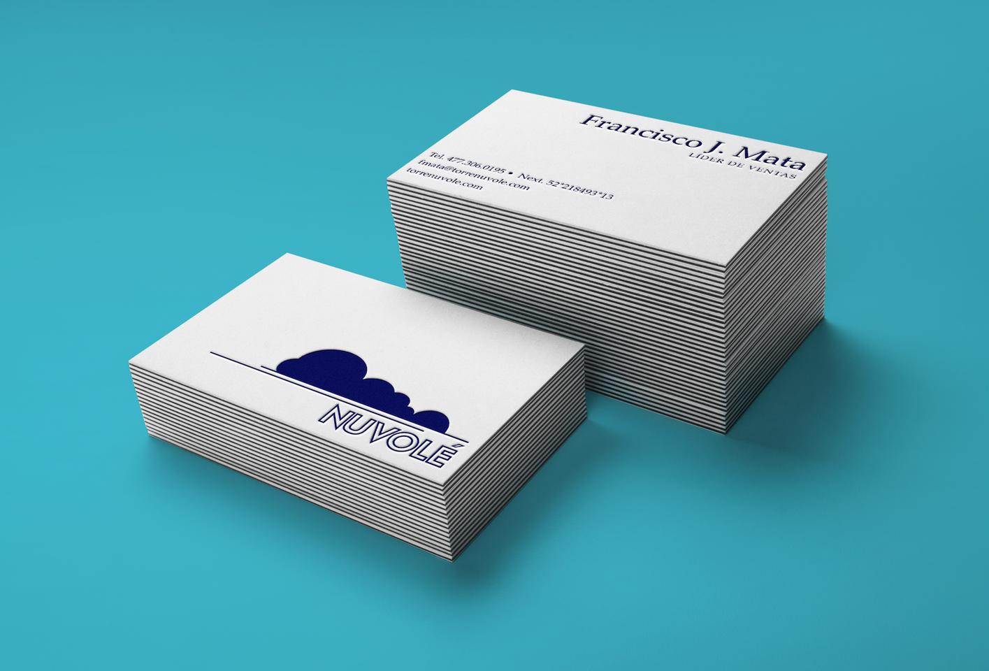 Nuvole business card