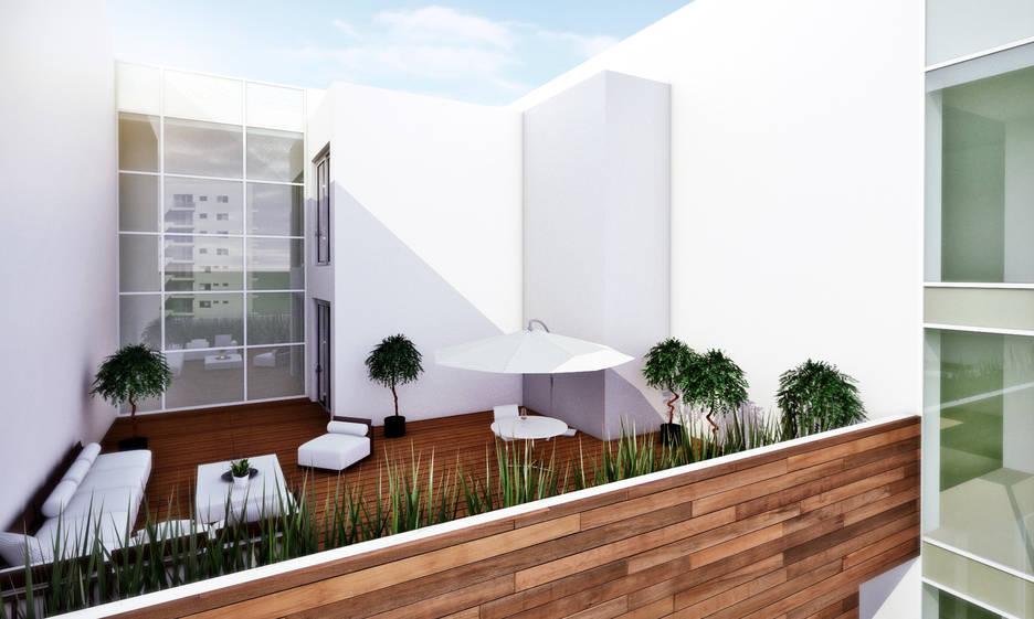 Nuvole Rendering Roof Garden