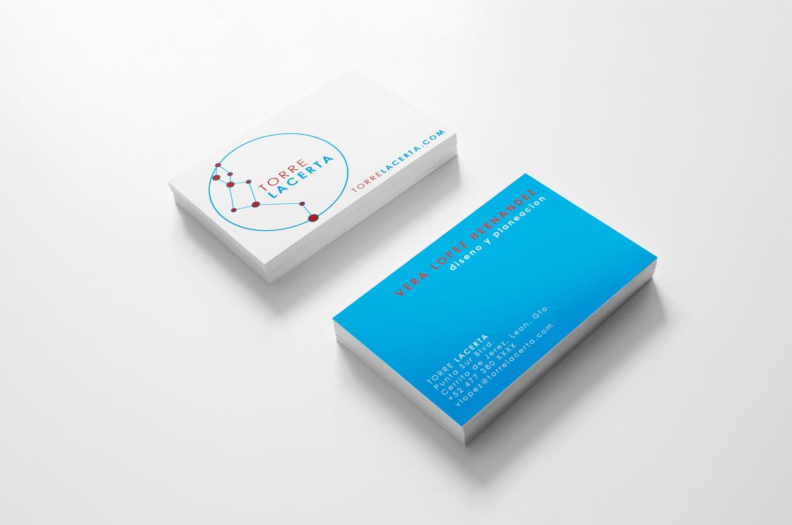 Lacerta Logo + Biz Card