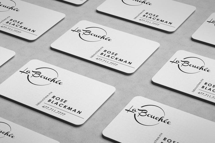 La Bouchee Biz Cards
