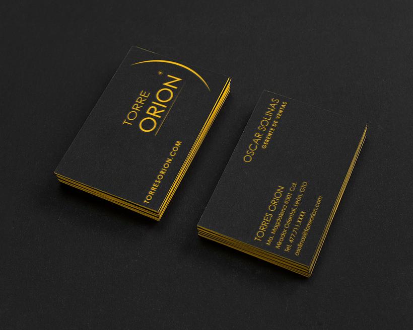 Torre Orion Biz Card