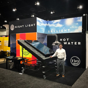 Tradeshow booth design + working the shows