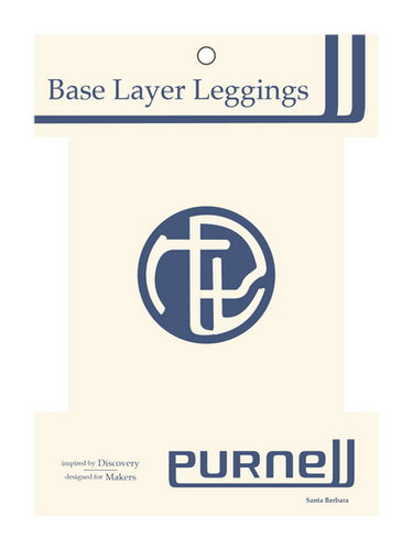 Purnell Gear Base Layer Leggins Packaging
