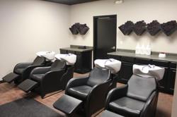 90 Degrees Salon | Shampoo Area