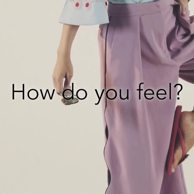 """I feel..."" campaign with Tamara Al Gabanni for Pairs"