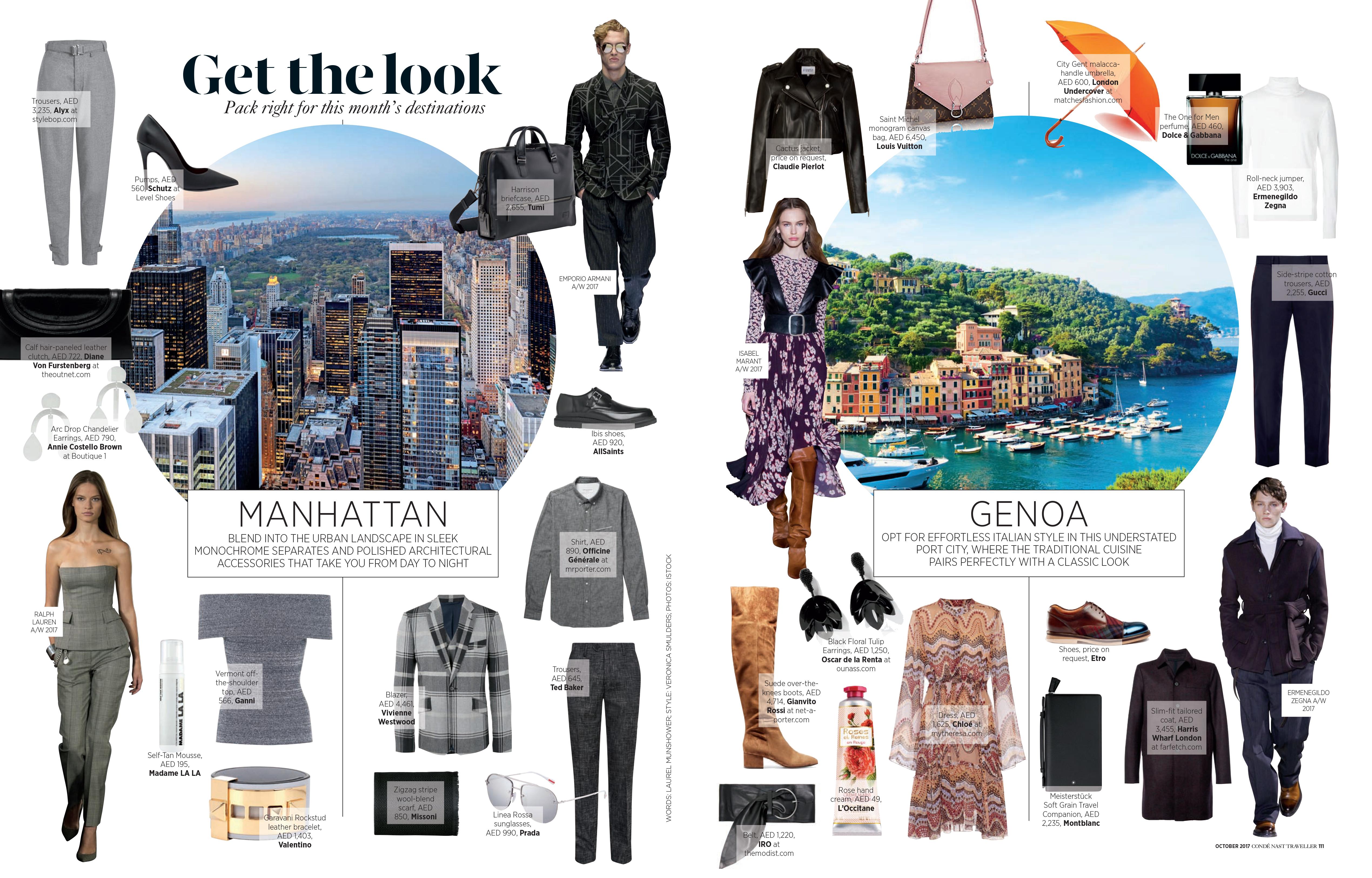 Fashion pages - Condé Nast Traveller