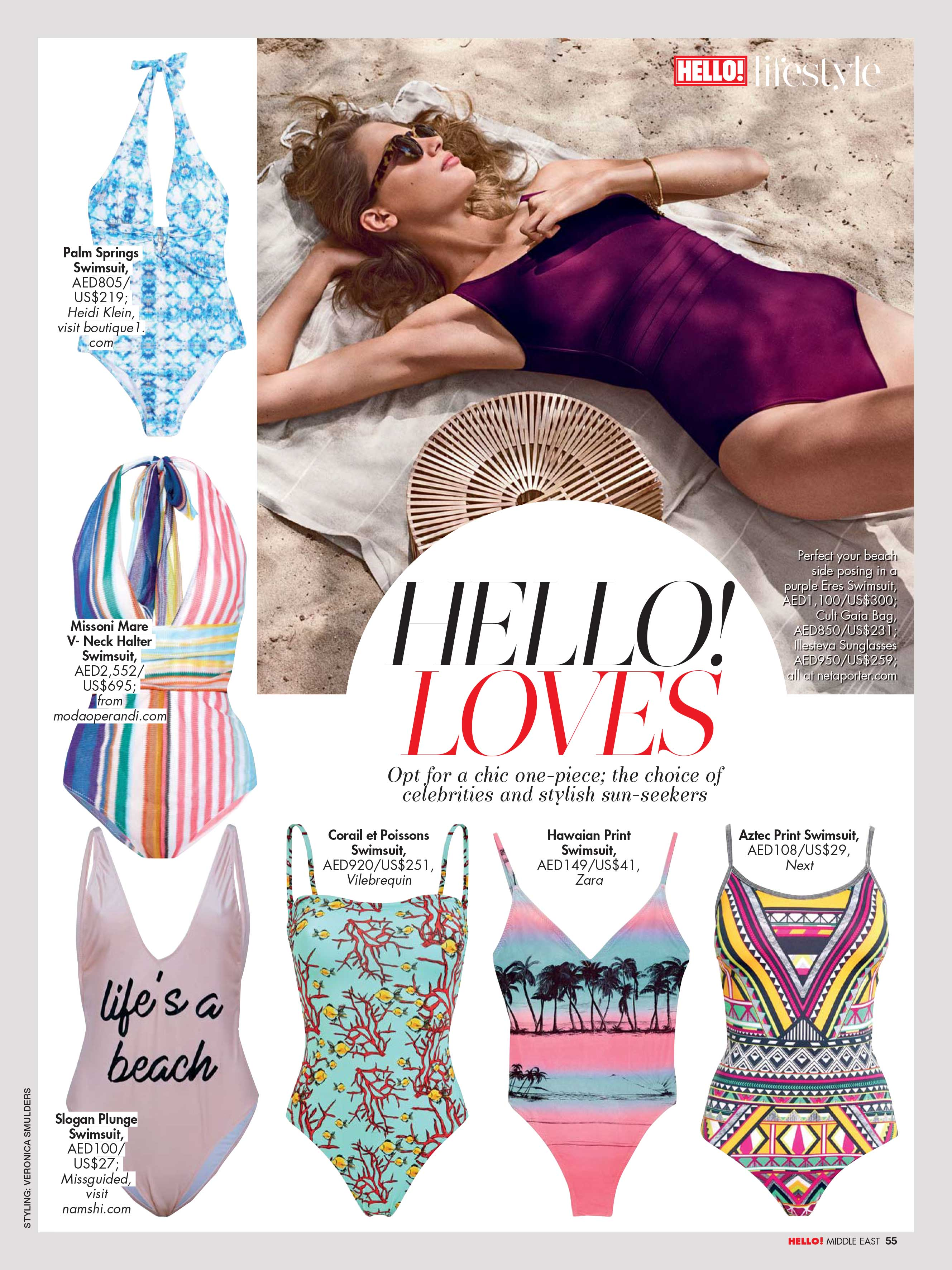Fashion pages - Hello! Middle East